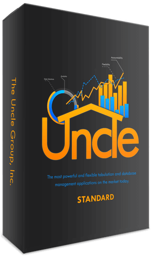 Uncle Standard tabulation and database enterprise solution software box